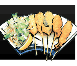Kushikatsu Assortment