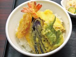彩り野菜の天丼
