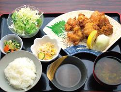 若鶏の唐揚おろしポン酢定食