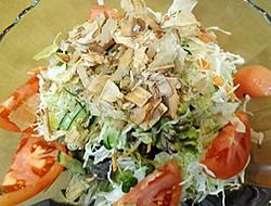 野菜畑のどっさりサラダ